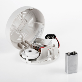 Smoke alarm and battery