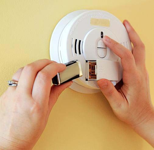 Replace Your Smoke Alarm And Co Alarm Batteries This
