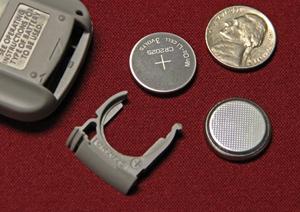 Pilas o baterías tipo botón