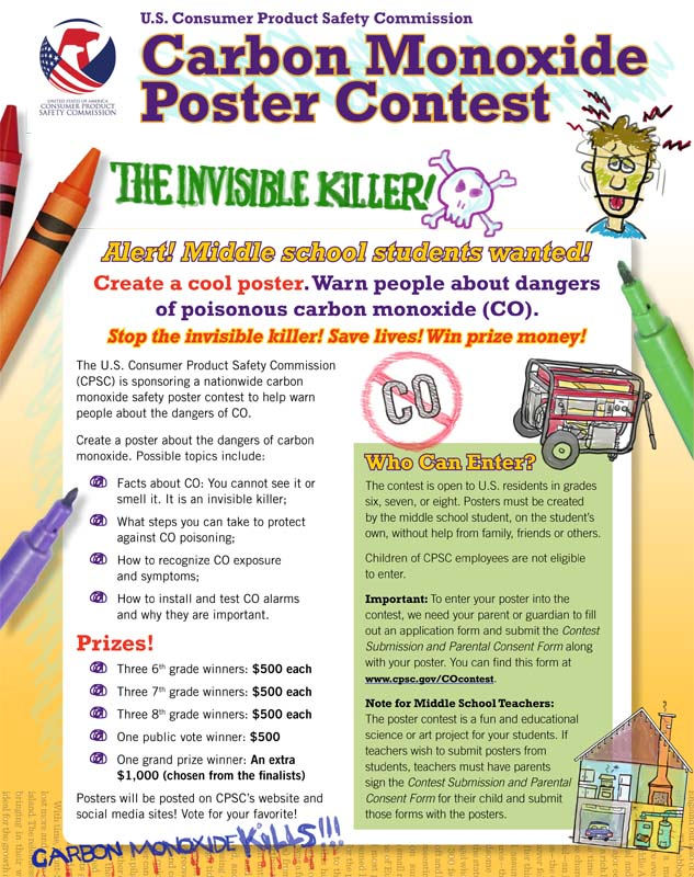 writing contests for middle schoolers