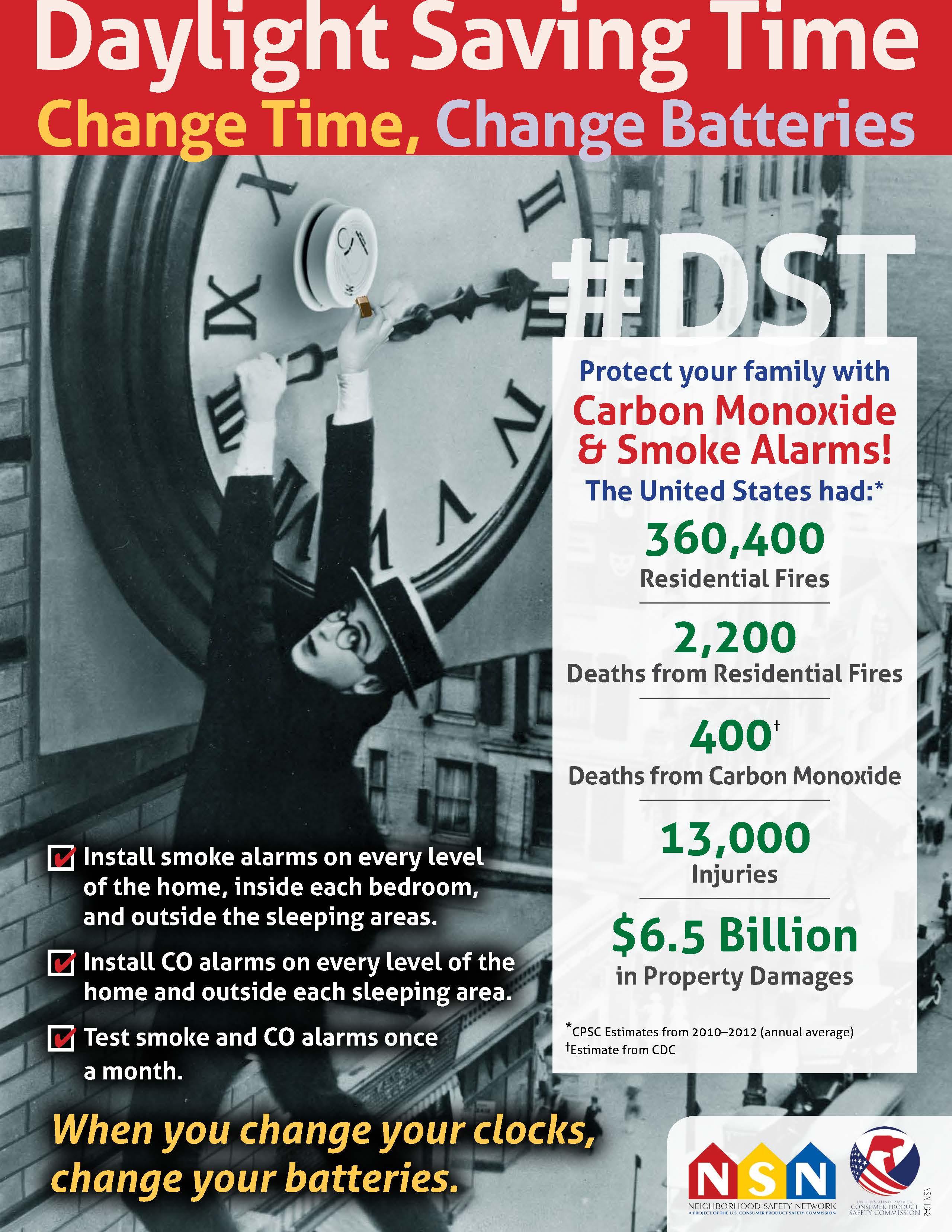 Daylight Savings Time Poster