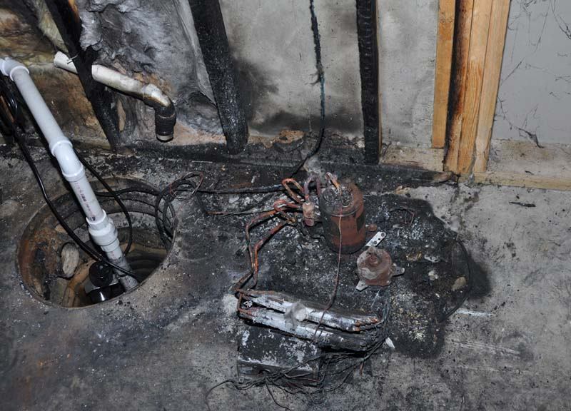 Dehumidifier Fire Damage