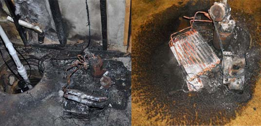Property damage from fires involving recalled dehumidifiers.