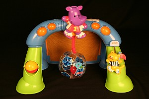 Fisher-Price infant activity centers with an inflatable ball