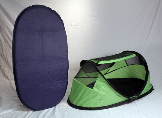 Recalled PeaPod tent and repair mattress