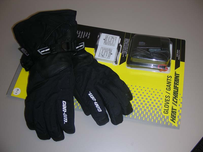 BRP Ski-Doo and Can-Am Lithium-ion Rechargeable Batteries and Heated Gloves