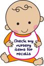 Check nursury items for recalls