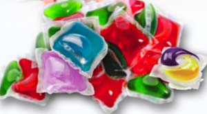 single-use liquid laundry packets